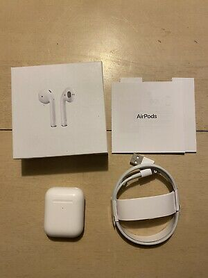 $ CDN4.15 • Buy Used Apple Airpods 2nd Generation Worn Twice Super Clean $1 No Reserve Free Ship