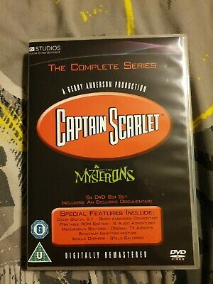 Captain Scarlet And The Mysterons DVD Boxset • 20£