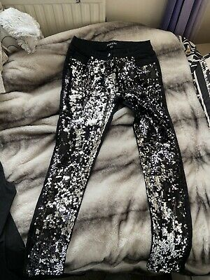 Womens Sequin Jeans • 5£
