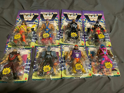 $249.99 • Buy WWE Masters Of The Universe Lot Of 8 Figures - Wave 1 Check It Out!!!