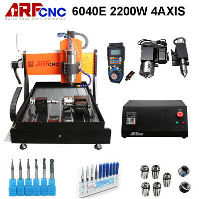 AU4609 • Buy CNC Router 6040 2.2KW 4axis Metal Carving Machine With Linear Guide AU Ship