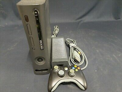 AU20 • Buy Xbox 360 Arcade Console, Black, 1 Controller, 120GB HDD Tested And Working.