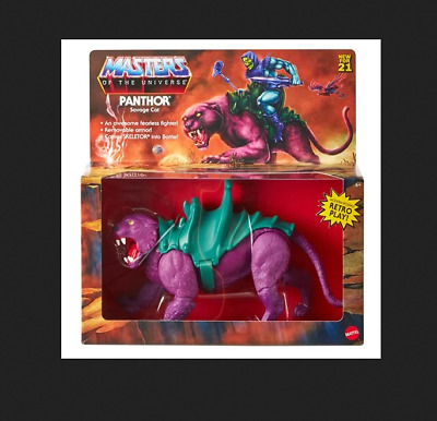 $36.99 • Buy PRESALE: Masters Of The Universe Origins Panthor Action Figure