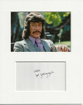 £84.99 • Buy Peter Wyngarde Jason King Genuine Authentic Autograph Signature And Photo AFTAL