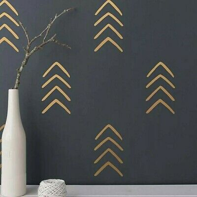 £5.99 • Buy Arrow Wall Stickers Decals | Geometric Style Wall Decoration DIY Vinyl Adhesive