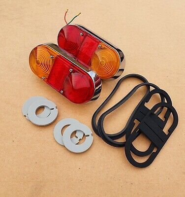 Volvo P1800s P1800e Rear Tail Lights Brand New Pair • 180£