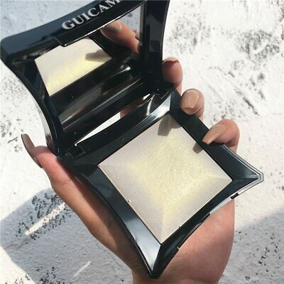 Professional Face Highlighter Shimmer Powder Illuminator For Face Golden Bronzer • 10.58£