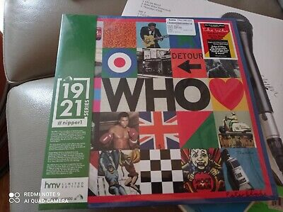 The Who - Who / Hits (HMV 1921 Nipper Series) 2LP Vinyl Record [NEW] • 20£