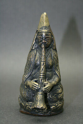 Antique Sino-Tibetan Buddhist Deities, Buddhas With Ritual Instruments. Bronze • 0.99£