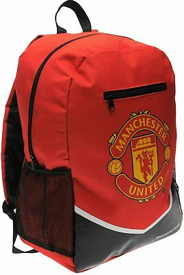 Official Manchester United F.C. School Bag Backpack Rucksack Gift For Him Her • 15.99£