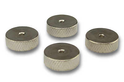£3.59 • Buy Speaker Spike Pads Shoes Feet  15mm Silver - Set Of 4 Pieces