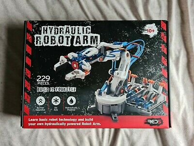 Hydraulic Robot Arm - RED 5 - 229 Pieces NEW • 9.75£