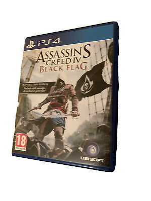 Assassins Creed Black Flag PS4 • 2.90£