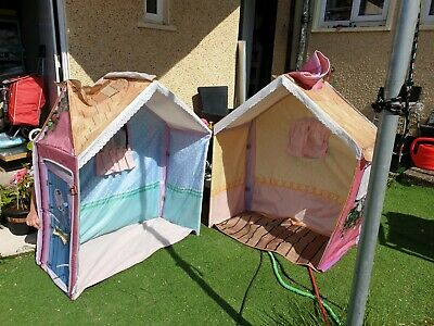 Rose Cottage Play Wendy House Tent Kitchen Sink Table Bundle • 20£