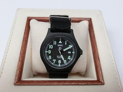 MWC G10 Military Watch 50m PVD Date Window Battery Hatch Back  • 80£
