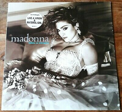 Madonna: Like A Virgin ~ Original 1984 Vinyl LP ~ Sire Records *VG+/VG+* • 5£
