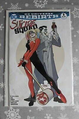 Suicide Squad #1 - Dynamic Forces Exclusive Terry Dodson Variant Cover • 0.99£