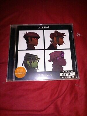Gorillaz - Demon Days (Parental Advisory ) • 5£