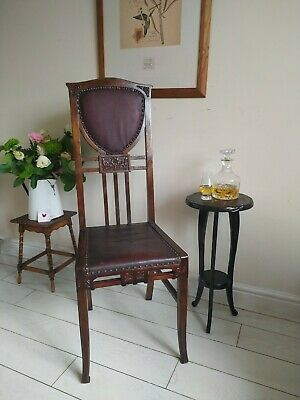 £750 • Buy Charles Rennie Macintosh Liberty Style Chair Tall Dining Hall Unique Rare
