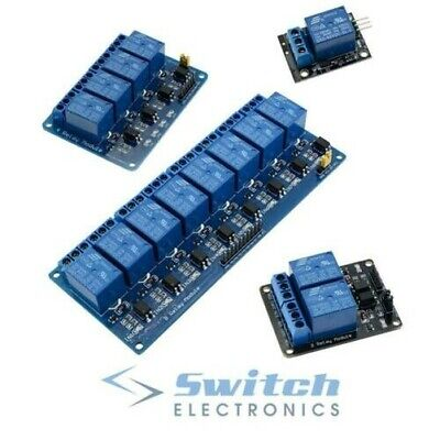 AU11.54 • Buy 5V 1/2/4/8 Channel Relay Board Module For Arduino Raspberry Pi ARM AVR DSP PIC