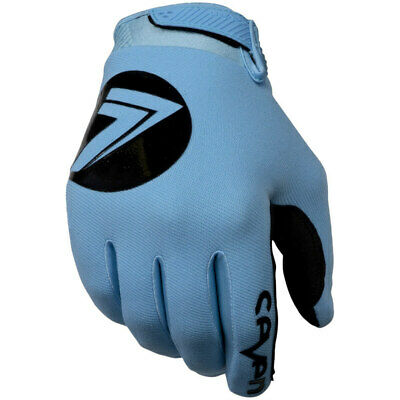 AU25 • Buy NEW Seven MX Annex 7 Dot Blue Kids Off Road Motorcross Dirt Bike Riding Gloves