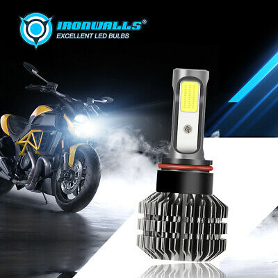 $18.99 • Buy 1x Canbus H4 HS1 9003 HB2 Motorcycle LED Headlight Bulb 50W 5000LM 6500K Bright