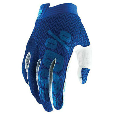 AU42.95 • Buy 100% Percent Mx I-Track Blue/Navy Motocross Dirt Bike Gloves
