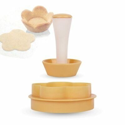 Plastic Cake Cup Press Biscuit Baking Rice Ball Donut Mold DIY Baking Tool • 4.09£