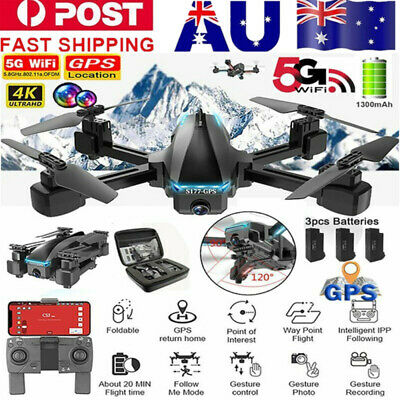 AU34.90 • Buy 2.4/5G 4K Drone X Pro With HD Camera Drones GPS WiFi FPV RC 4 Axis Quadcopter AU