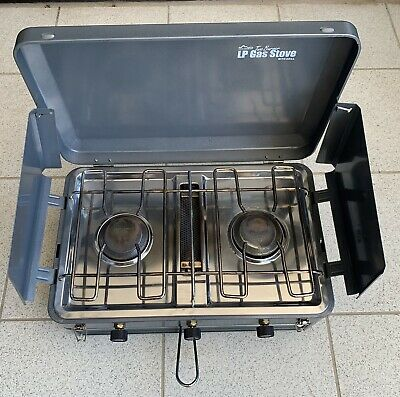 AU45 • Buy 2 Burner Gas Camping Stove And Grill