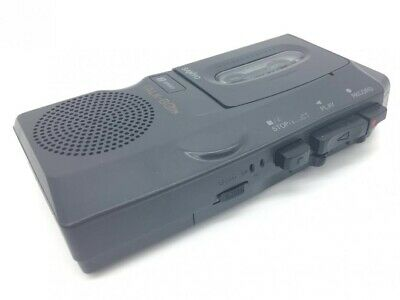 "Sanyo Talk-Book TRC-520M Microcassette Recorder Dictation Machine (""Dictaphone"") • 35£"