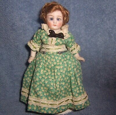$ CDN13.26 • Buy Antique German ALL Porcelain Bisque Girl Doll~6.7  Doll House Dollhouse~Original
