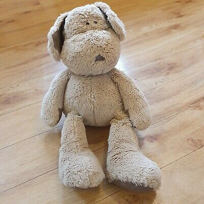 """Mamas And Papas Puppy Dog Once Upon A Time Pumpkin Soft Cuddly Toy 16"""" Brown • 8.99£"""