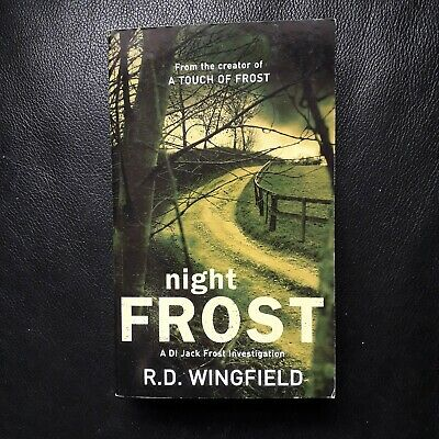 R D Wingfield Night Frost  DI Jack Frost Investigation Paperback Book Brand New • 7.99£