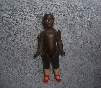 $ CDN35.37 • Buy Antique German Porcelain Bisque BLACK Doll~3  Dollhouse Doll House~MARKED 4886 7