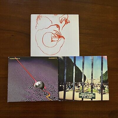3XCDS! Tame Impala Currents + Tame Impala Lonerism + Yuck Glow & Behold • 10£