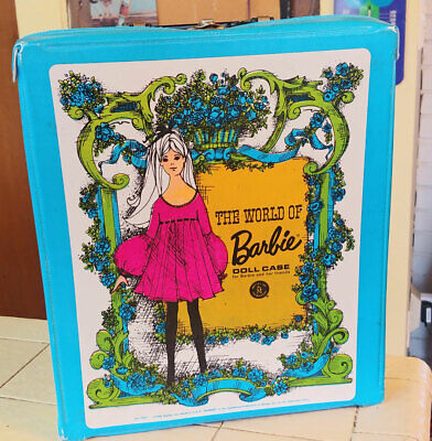 $ CDN19.06 • Buy Vintage 1968 The World Of Barbie Doll Case By Mattel W/ Clothes
