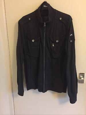 Mens Brown Cotton Jacket Size Medium By Duck And Cover • 2.99£