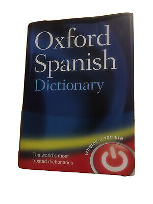 Concise Oxford Spanish Dictionary: Spanish-English, English-Spanish By Oxford... • 1.60£