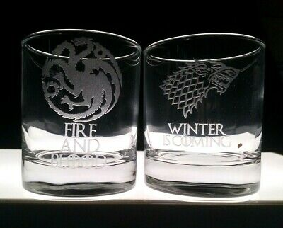 £9.99 • Buy Game Of Thrones Whisky Glass + Gift Box