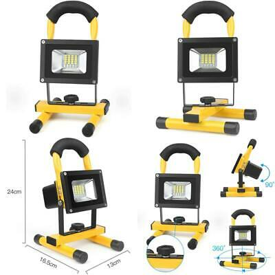 SHOOT 10W Led Work Light Rechargeable, Portable Flood Light Waterproof 120 Degre • 19.29£