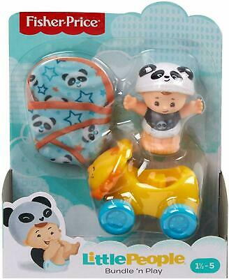 Fisher Price  Little People Bundle 'n Play Baby Figure + Accessories 1 Supplied • 11.99£