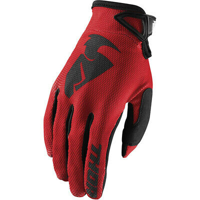AU19 • Buy NEW Thor MX Sector Red Off Road Motorcross Dirt Bike Riding Gloves