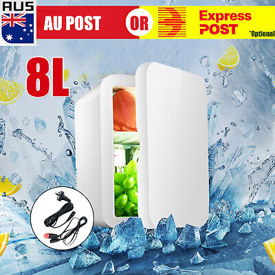 AU49.59 • Buy 8L 2 In1 Home Car Mini Portable Fridge Small Drinks Beer Cooler Bar Freezer AU J