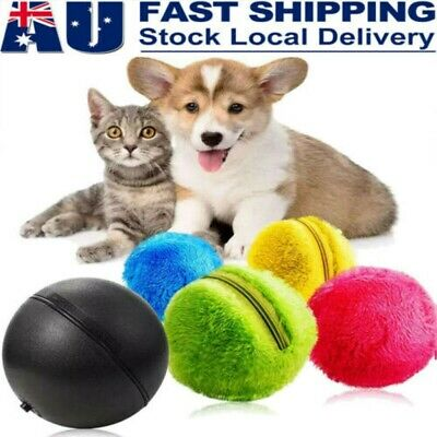AU12.88 • Buy Magic- Roller Ball Toy Automatic Pet Dog Cat Active Rolling Ball Electric Toys