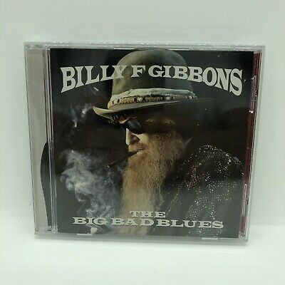 AU15 • Buy Billy F Gibbons The Big Bad Blues CD Sealed NEW ZZ TOP
