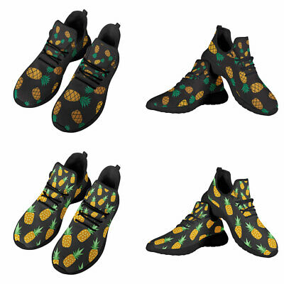 £24.99 • Buy Pineapple Printed Adult Sport Shoes Daisy Casual Sneakers Breathable Soft Shoes