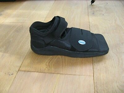 Darco Medical Surgical Shoes (ML Size 43,5 - 45) Black. For Either Foot.  New • 8£
