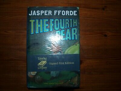 £14 • Buy The Fourth Bear By Jasper Fforde- Signed First Edition