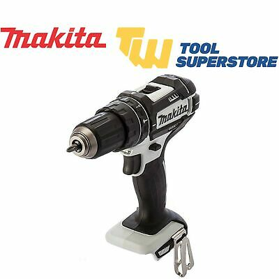 Makita DHP482WZ Combi Drill 2-Speed 18V LXT Li-ion White Cordless Body Only • 49.99£